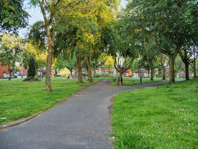 Radcliffe, Festival Gardens