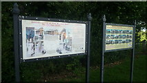 SO3958 : Signs at Pembridge Car Park by Fabian Musto