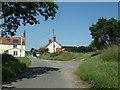 TG1321 : Guton Hall Lane, Brandiston by Adrian Cable