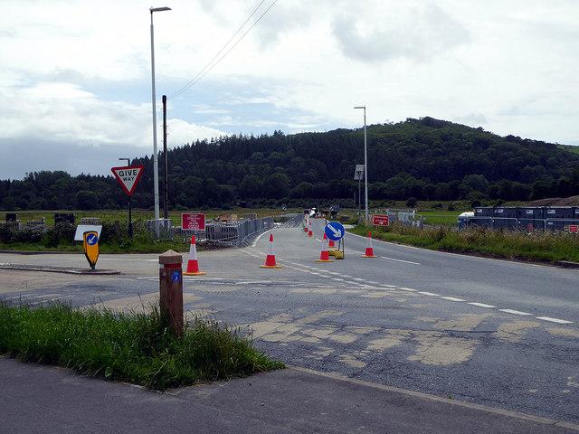 Road realignment at Bow Street