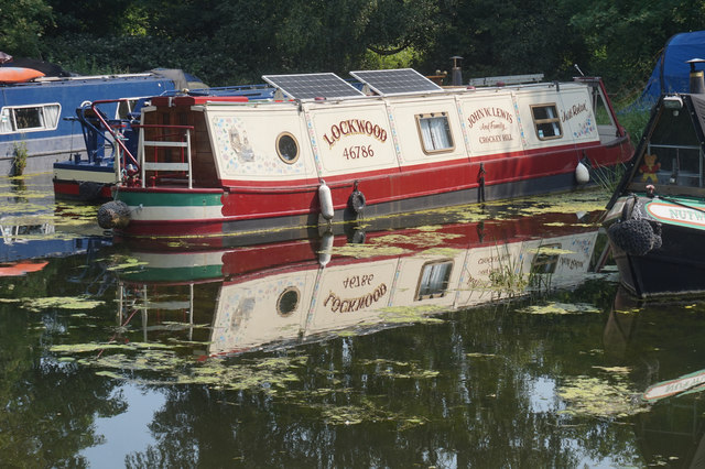 Moorings at Melbourne Branch, Pocklington Canal
