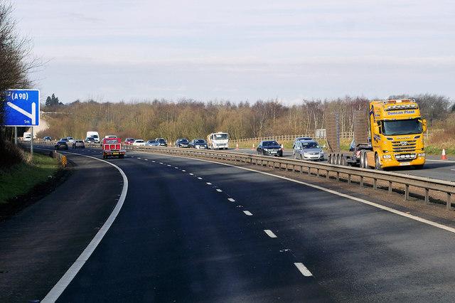 Westbound M8 Motorway