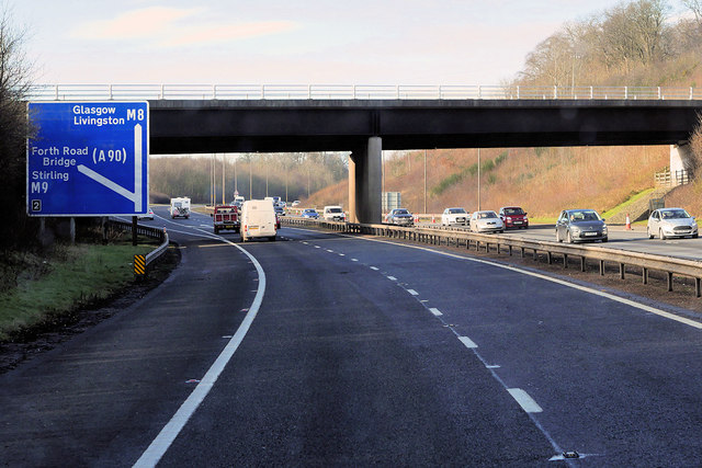 Westbond M8 approaching Junction 2