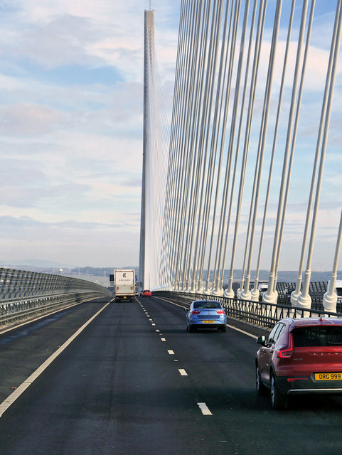 Queensferry Crossing over the Forth