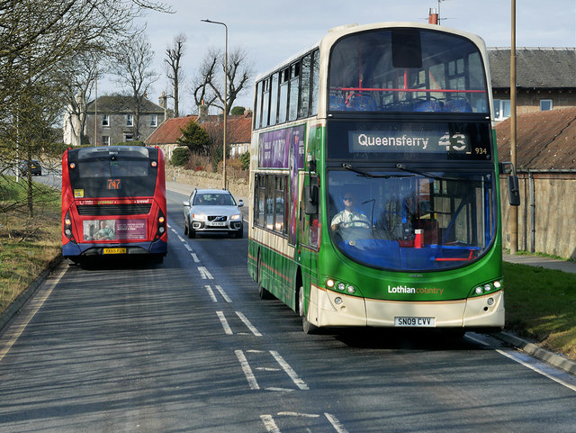 Number 43 to Queensferry
