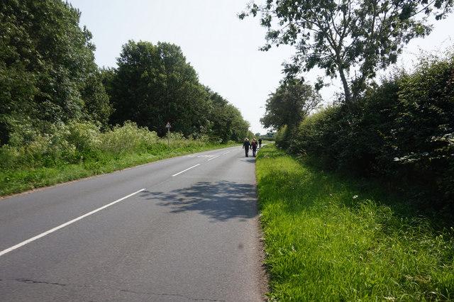 Road towards Scamland Bridge