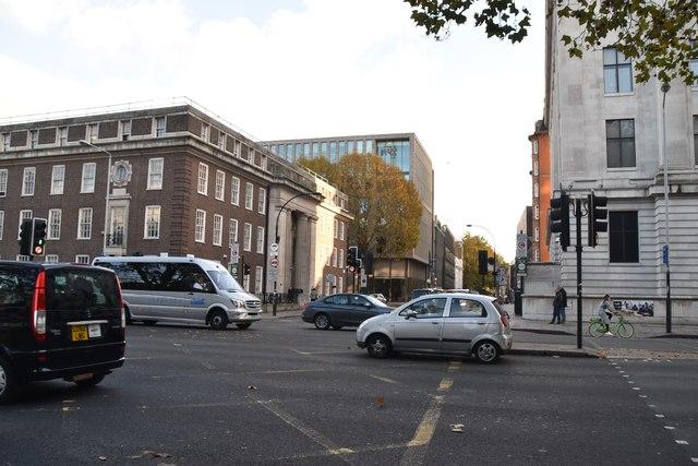 Gordon St, Euston Rd junction