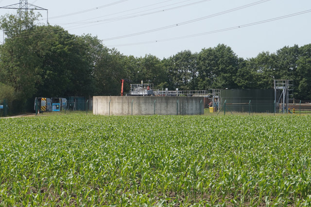 Sewage works near East Common, Melbourne