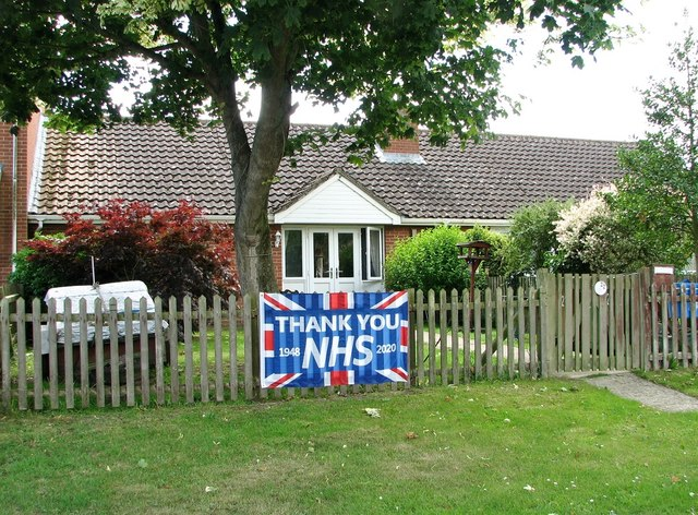 22 Ferry Road - Thank You NHS banner