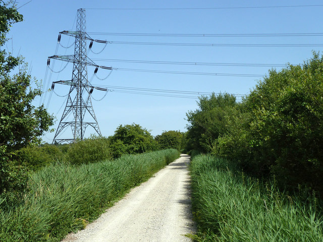 Cycleway along old towpath