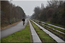 TL4661 : Guided Busway by N Chadwick