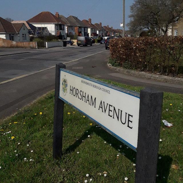 Kinson: Horsham Avenue