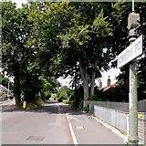 SZ0795 : East Howe: Howeth Road by Chris Downer