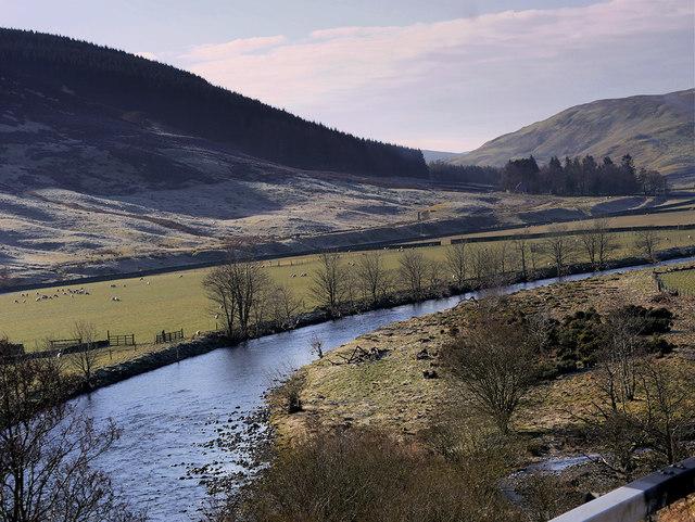 River Tweed, Stanhope