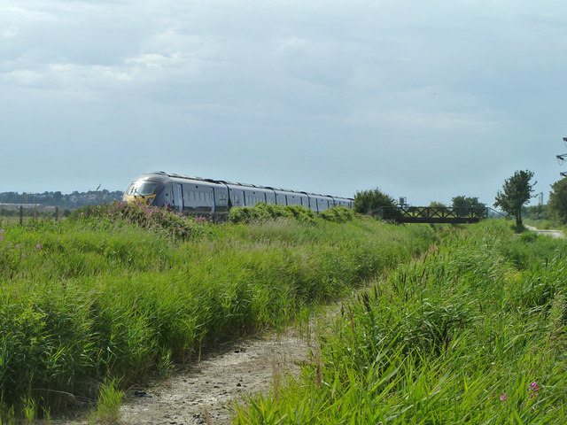 Javelin train by Thames and Medway Canal