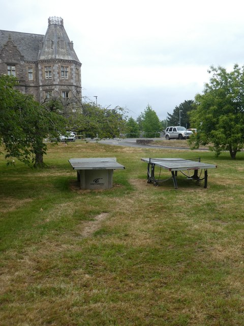 Open air table-tennis tables, RD&E Hospital, Exeter