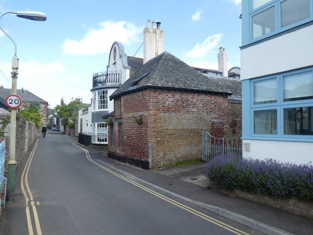Old building, Ferry Road, Topsham