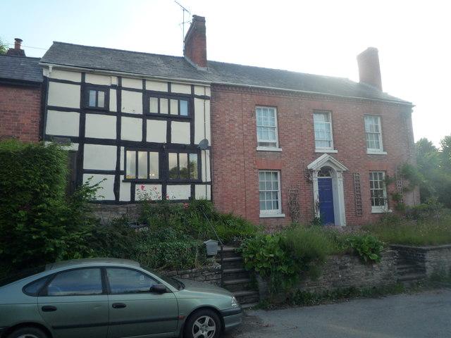 Houses in Bridge Street (Pembridge)