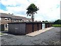 SE2434 : Lock-up garages, Rossefield Grove by Stephen Craven