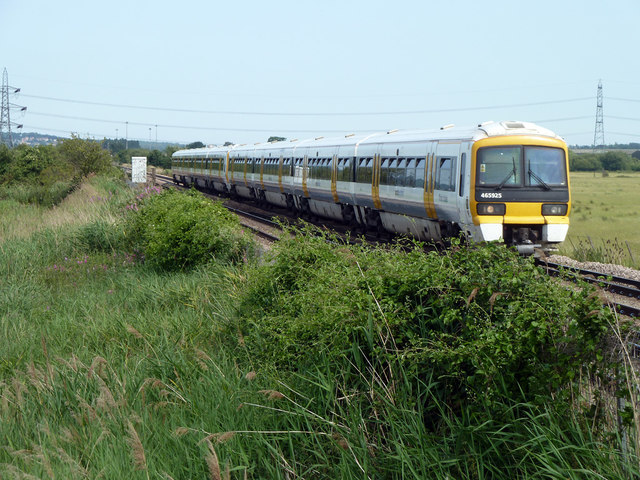 Up train towards Gravesend