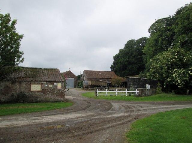 Entrance  to  Neswick  Farm  from  Neswick  Lane by Martin Dawes