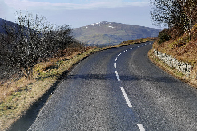 A701 in the Scottish Borders