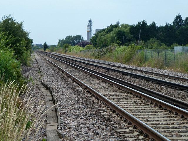 Railway towards Gravesend