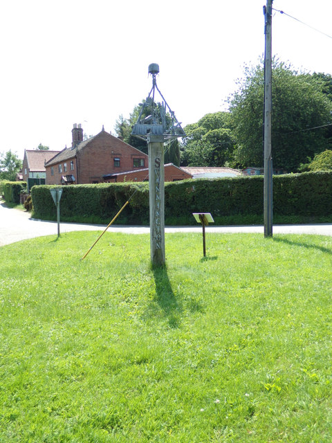 Swannington Village sign by Adrian Cable