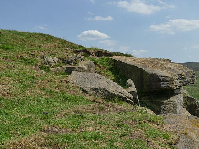 Rocks east of Foster's Leap