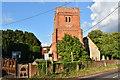 SU7268 : Church of St Mary the Virgin, Church Lane, Shinfield by Simon Mortimer