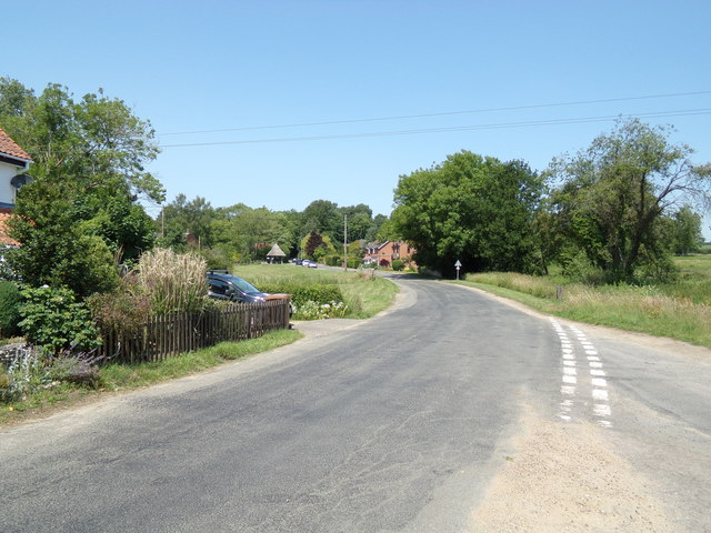 The Street, Swannington by Adrian Cable