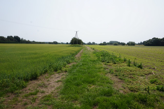 Path leading to Carr Lane
