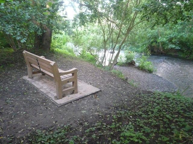 Bench by the River Arrow (Pembridge)
