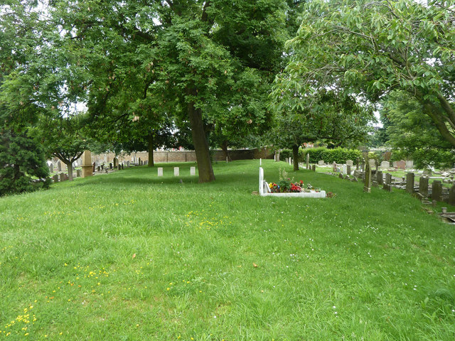 Site of catacombs, Gravesend Cemetery