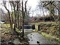 NZ1456 : Weir on the Pontburn by Robert Graham