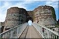 SJ5359 : The Inner Gatehouse at Beeston Castle by Jeff Buck