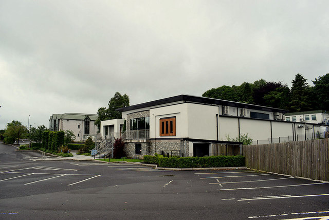Car park, Silverbirch Hotel, Lisanelly, Omagh