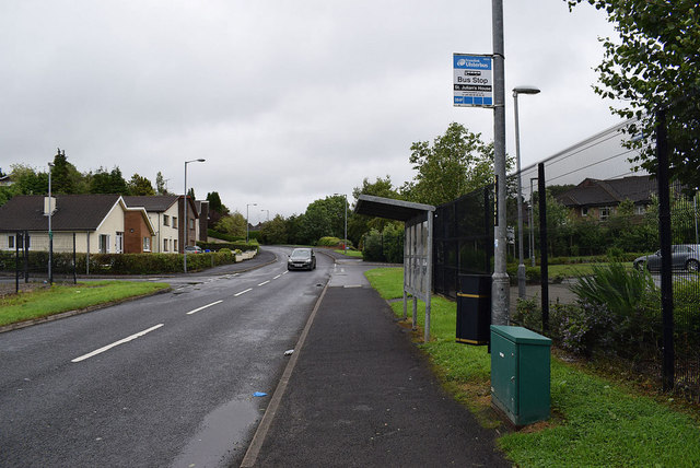 St Julian's House bus stop, Lisnamallard
