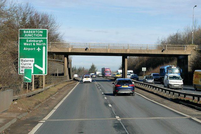 A720 City of Edinburgh Bypass, Lanark Road Bridge