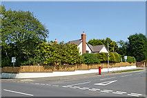 SO9095 : New house in Sandringham Road, Wolverhampton by Roger  Kidd