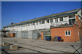 TQ7670 : Former dockyard building, Chatham by Chris Allen