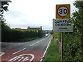 ST4932 : Entering Compton Dundon by Neil Owen