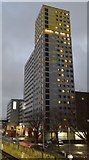 SU6400 : Towerblock by Portsmouth & Southsea Station by N Chadwick