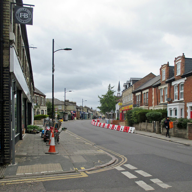 Mill Road: pavement widened
