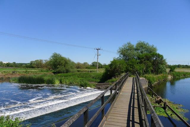 Footbridge 23A, River Soar Canal
