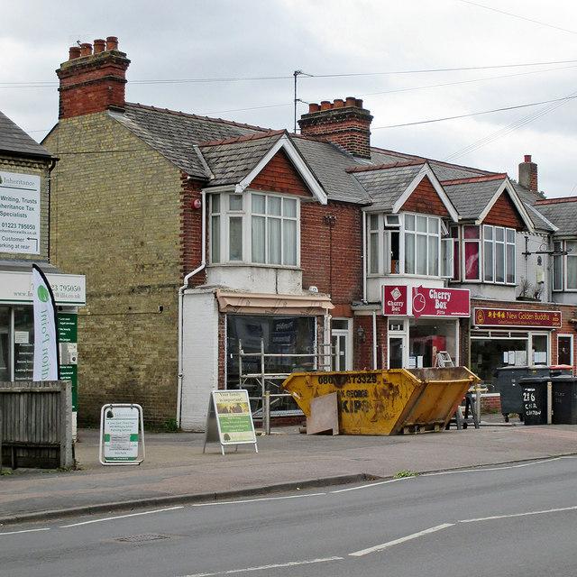 Cherry Hinton Road: renewing a shop