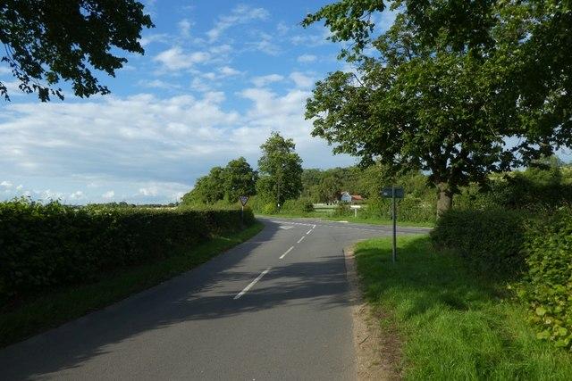 Towards Cliffe Road