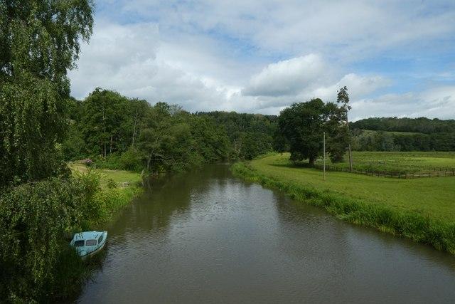 Derwent from Kirkham Bridge