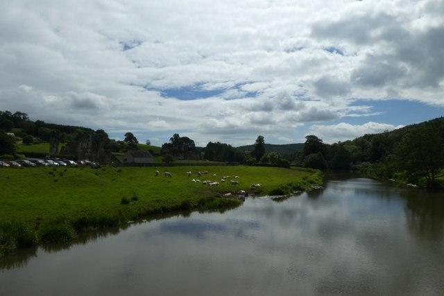 Downstream from Kirkham Bridge