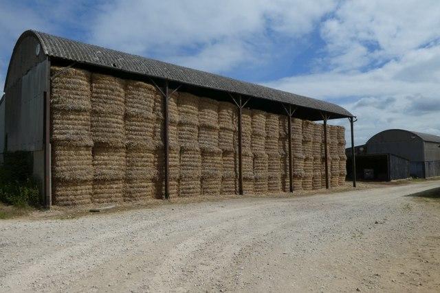 Barn of bales